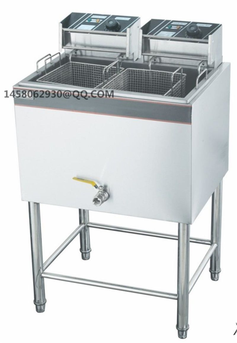 Ce Big Size Stainless Steel Electric Fryer Henny Penny Fried Chicken Potato Chips Donut Fish Machine Electric Deep Fryer Gas Fryer Deep Fryer