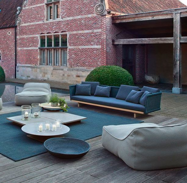 Paola Lenti | Sofa | Hand woven | Garden | Easy Chair | Float ...