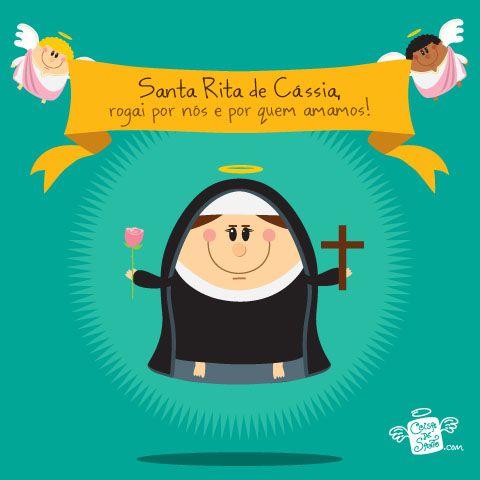 Santa Rita De Cassia Coisa De Santo Frases E Reflexões