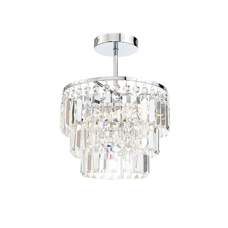 The layla chandalier style light is a beautifully designed light that will add a touch of