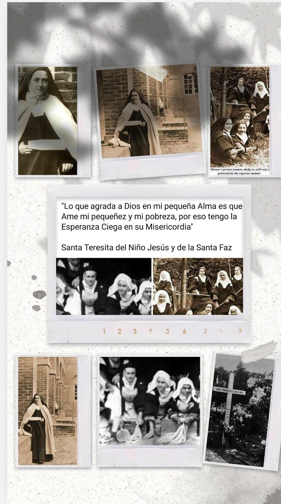 Pin De José Maria Pozo Dominguez En Santa Teresita Santa Teresita Del Niño Jesus Teresita Del Niño Jesus Santa Teresa