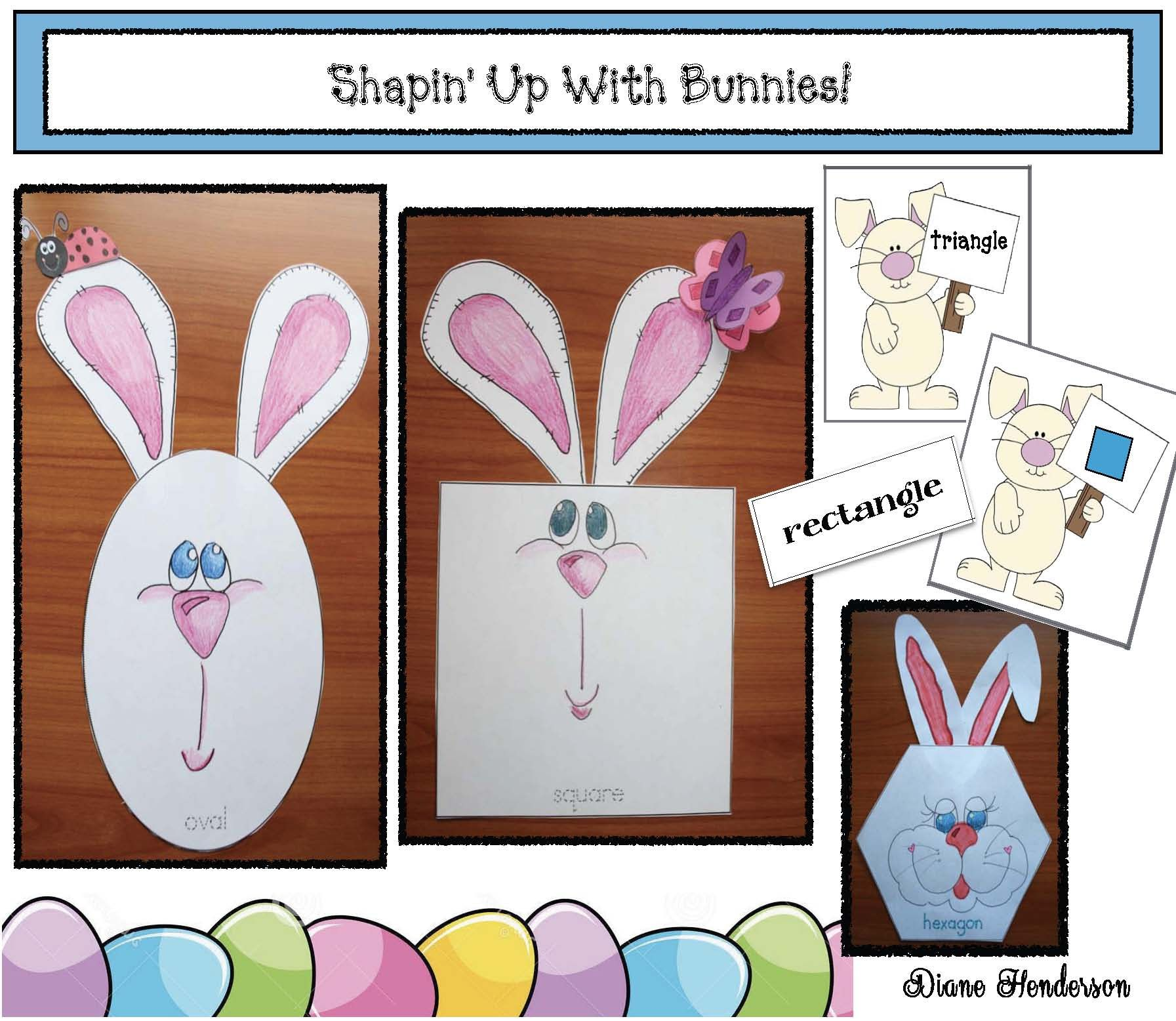 Easter Activities Practice 2d Shapes By Making These