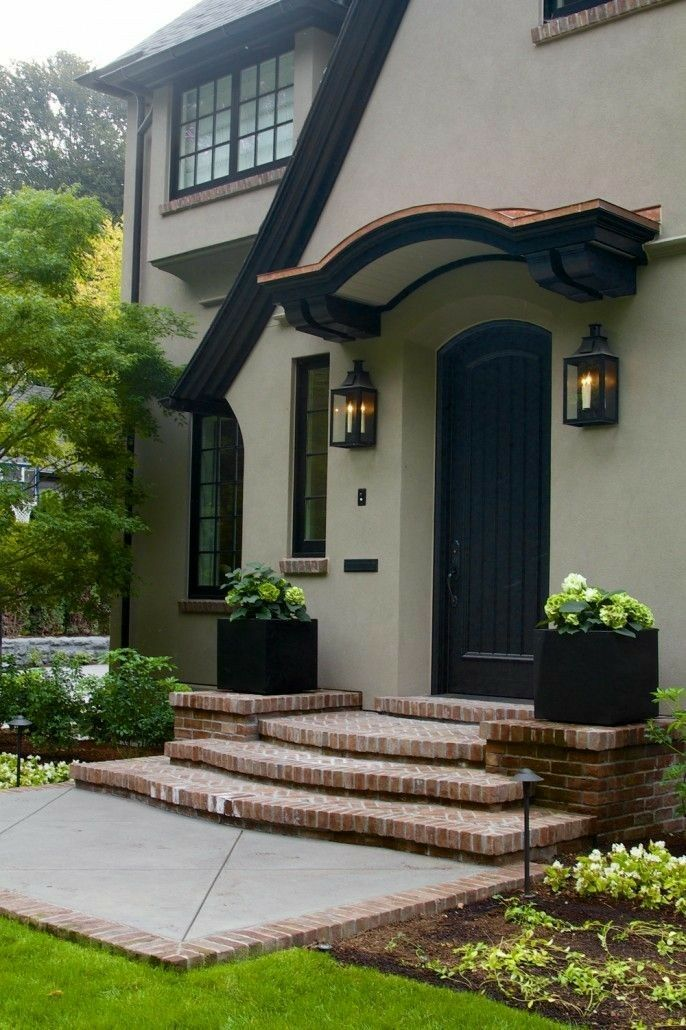 Best Love This Stucco Combination With The German Smear Porch 400 x 300