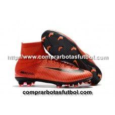 Lograr enero hacerte molestar  Proximas Botas De Futbol Nike Mercurial Superfly V FG Rojo Naranja ...