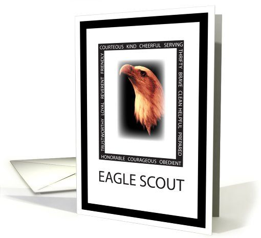 Award Ceremony Invitation! So special to use an actual Eagle Scout ...