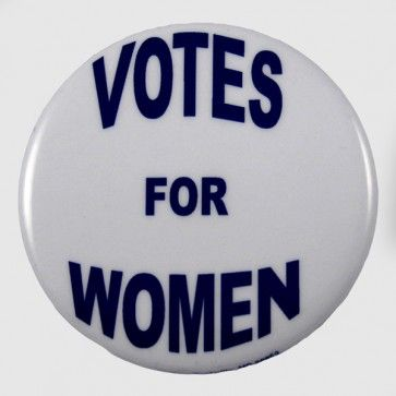 Votes For Women Button Women Vote Women In History