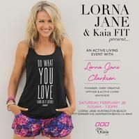 Join Us Saturday February 28th for a Special Move, Nourish, Believe event with Lorna Jane Clarkson herself. We can't wait to officially announce the Lorna Jane Powered by Kaia FIT program! Move, Nourish, Believe that you are Kaia Strong <3 #activeliving #lornajane #kaiastrong #womenshealth #womensfitness