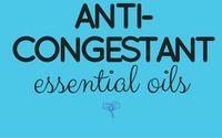 cover for Anti- Congestant Essential Oils board