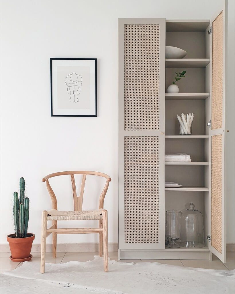 Ikea Mobili In Vimini easy ikea hacks with cane: 8 stylish diy projects accented