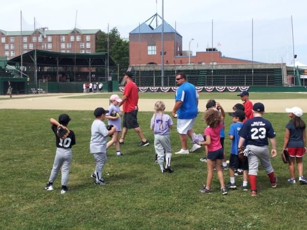 The Kids Excited To Play At The Legends For Youth Clinic On July 11th At Cardines Field In Newport Rhode Isla Importance Of Education Life Skills Rhode Island
