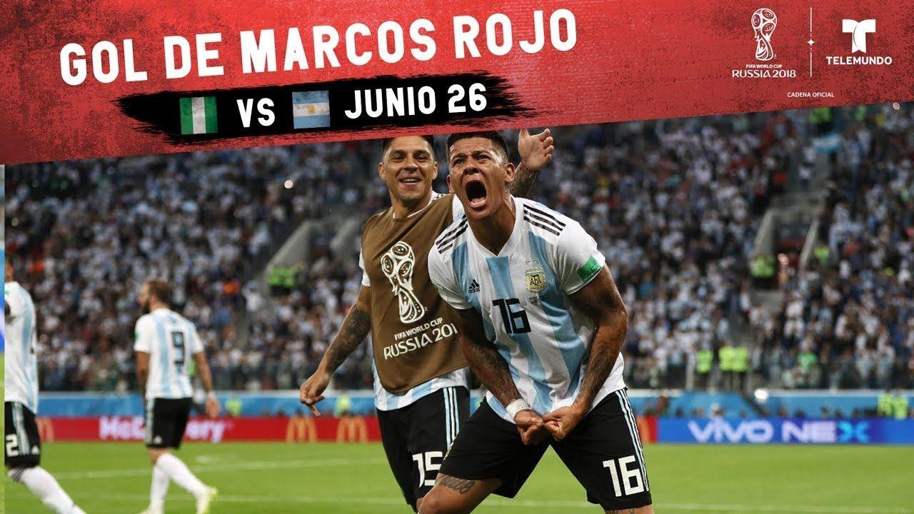 44bb25a6a Gol De Marcos Rojo  Highlight Nigeria vs Argentina
