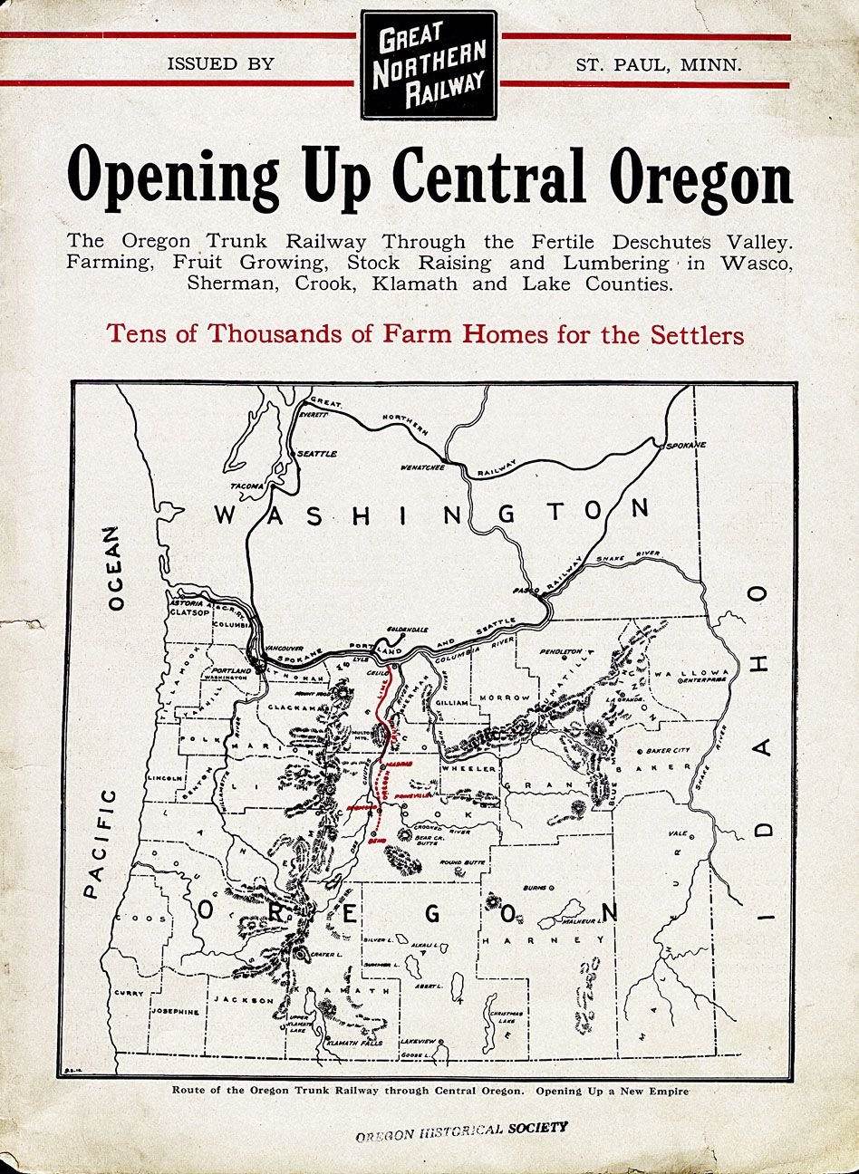 Brochure, Opening Up Central Oregon Central oregon