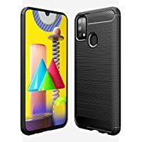 Amazon Brand - Solimo Mobile Cover (Soft & Flexible Back case) for Samsung Galaxy M31 (Black)
