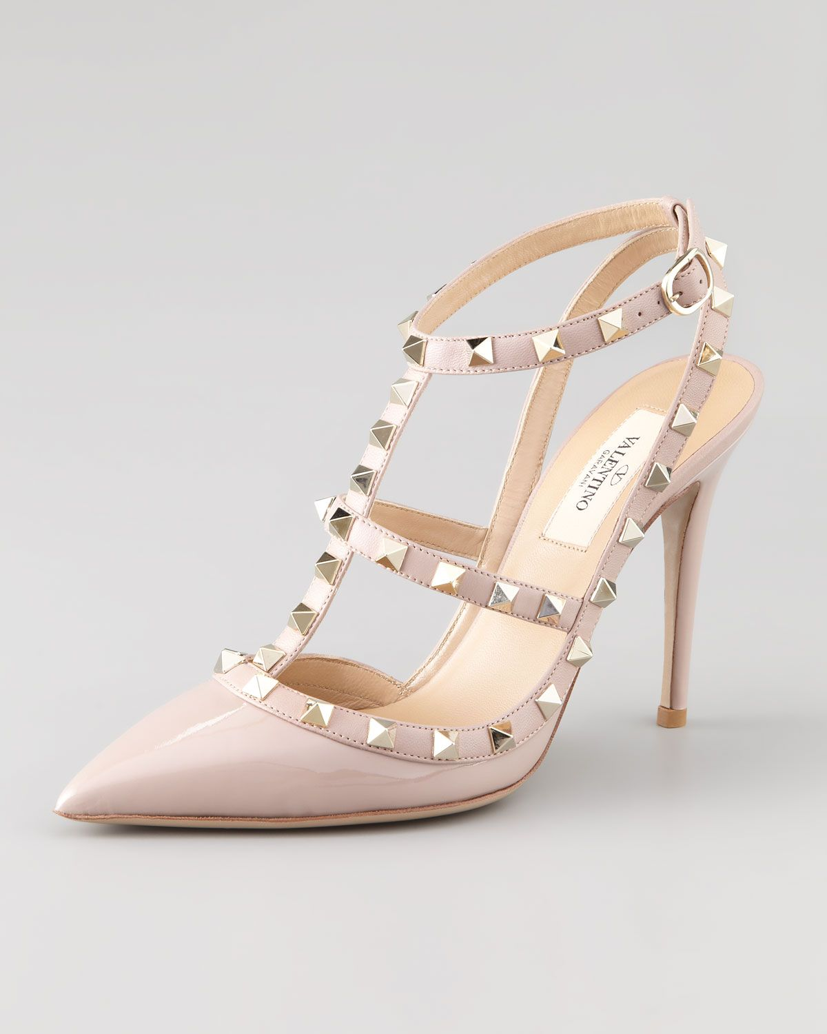 Valentino Classic Logo Leather Pumps FKdCUob00