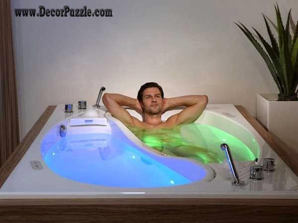 Luxury Bathtubs For Modern Bathroom , Double Bathtub Designs 2015