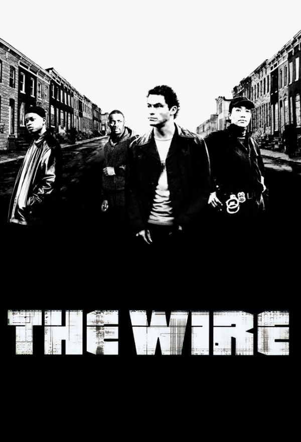 The Wire. The best show ever on TV. And as a former newspaperman ...