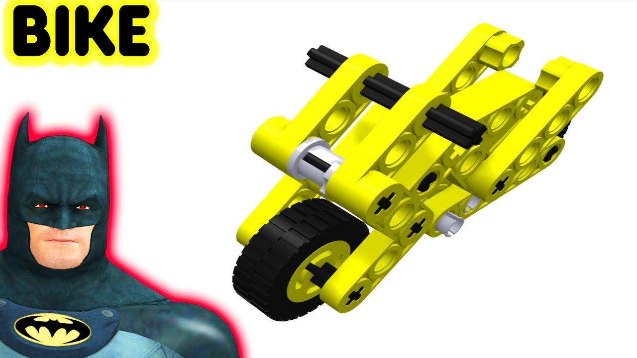 Kids Lego Bike Videos By Batman Motorcycle For Children | Ruby ...