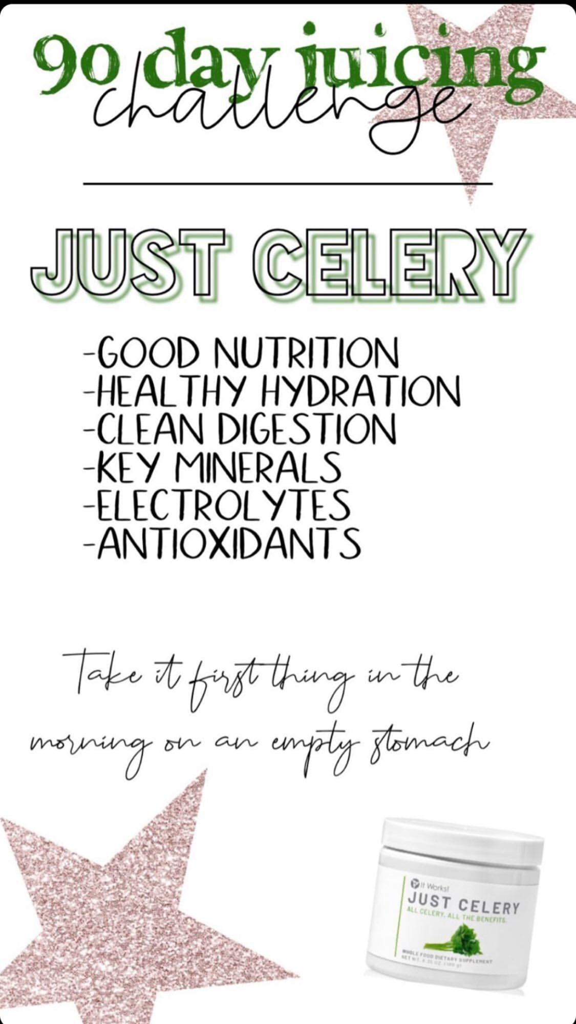 Pin by Rebecca Horvath on Just Celery Itworks, Healthy
