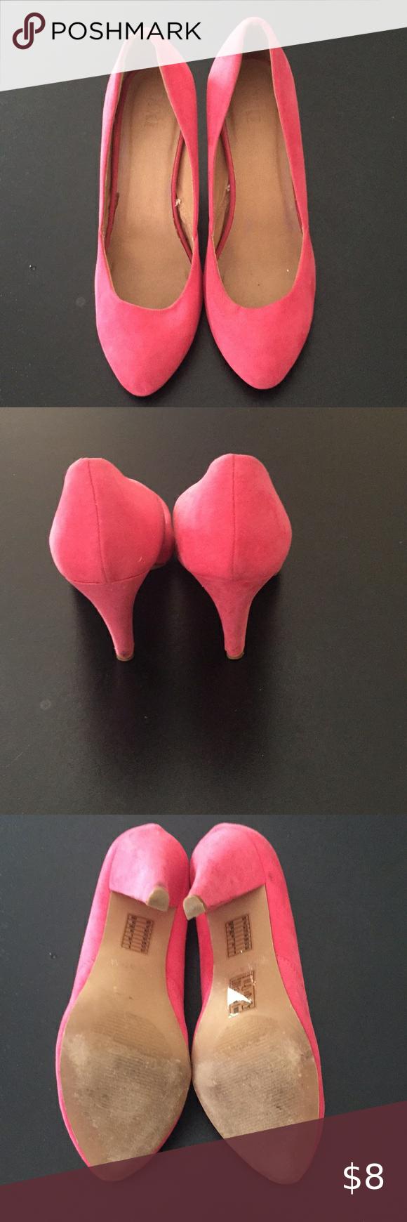 Ladies pink suede pumps. in 2020   Pink