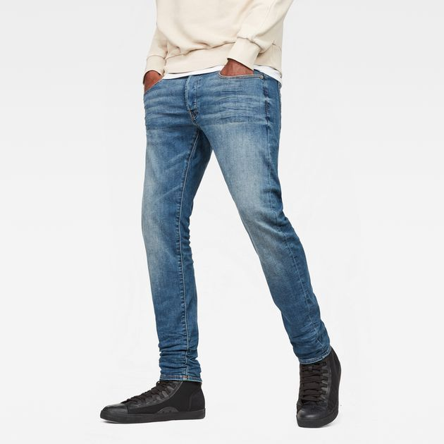 b84e67fa003 G-Star Raw The 3301 Slim Jeans is cut from extra-soft denim with