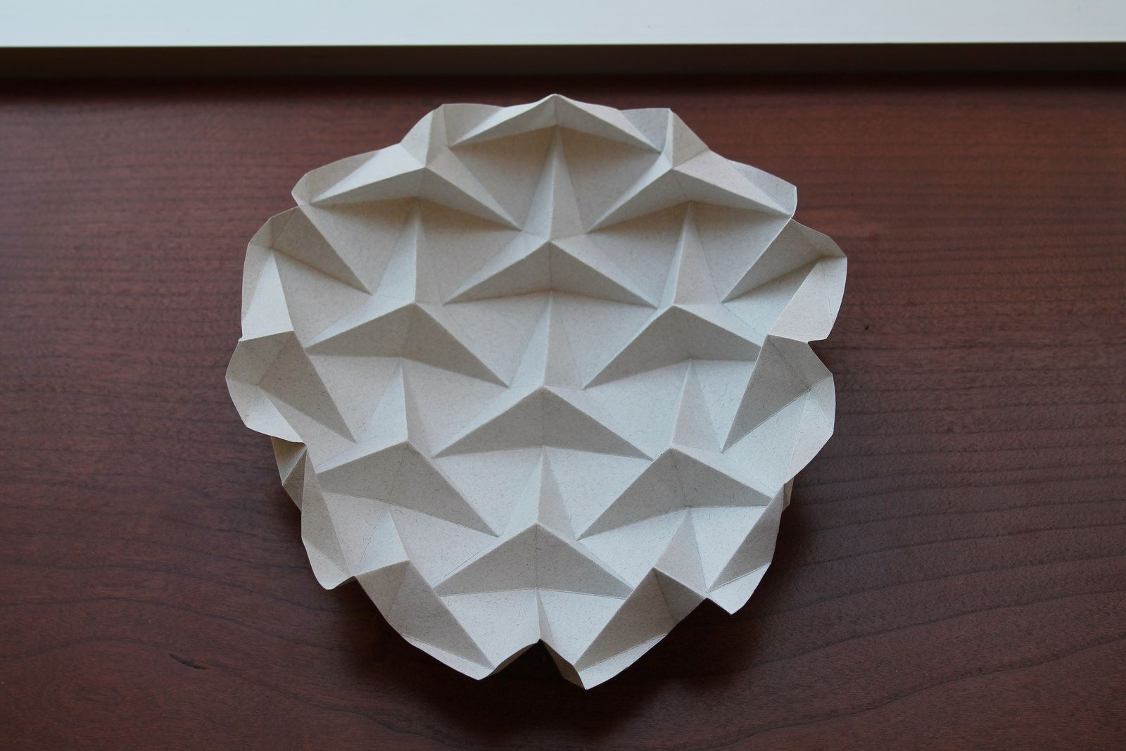 ron resch triangular tessellation | paper folding / paper structure