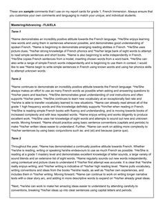 Grade  Full Year Report Card Comments Resource Preview  Report