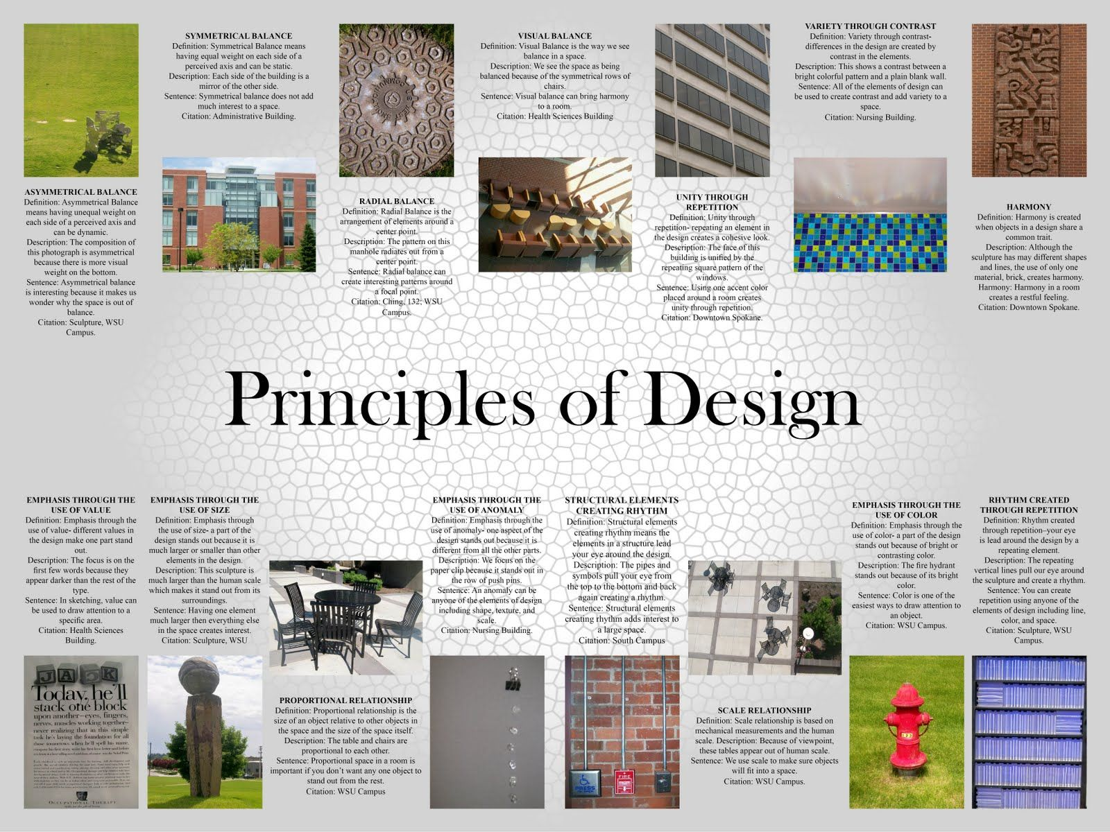 Shannon Stewart Elements And Principles Of Design throughout Design ...