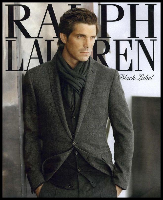 Nacho Figueras Ralph Lauren Gentleman Style Stylish Men