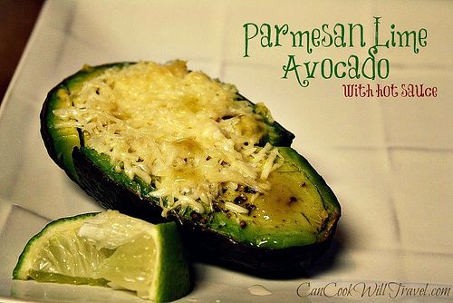 Parmesan & Lime Avocado - simply delicious! Click to find 3 great baked avocado recipes!