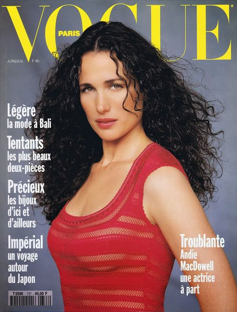 Andie MacDowell (And Daughter) In Berlin   The Non-Blonde