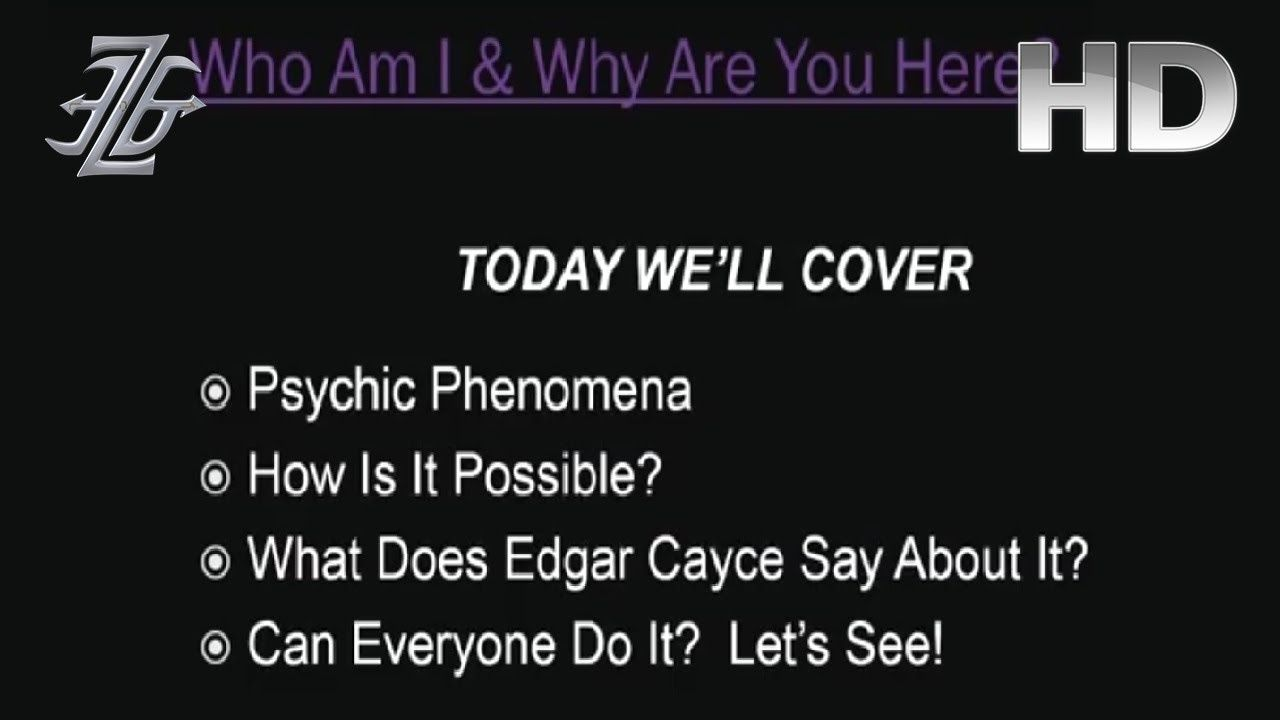 edgar cayce how to become psychic