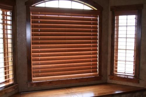 Wood Windows Rustic Wood Window Blinds