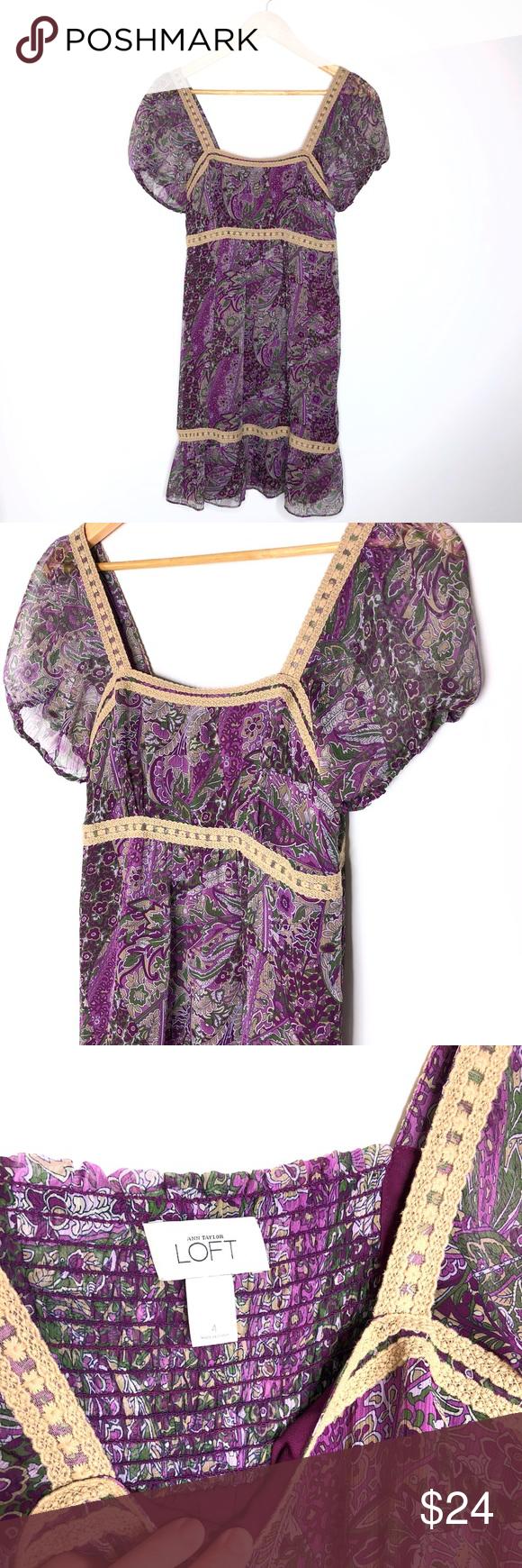 Bonito Ann Taylor Loft Vestidos De Dama De Honor Embellecimiento ...