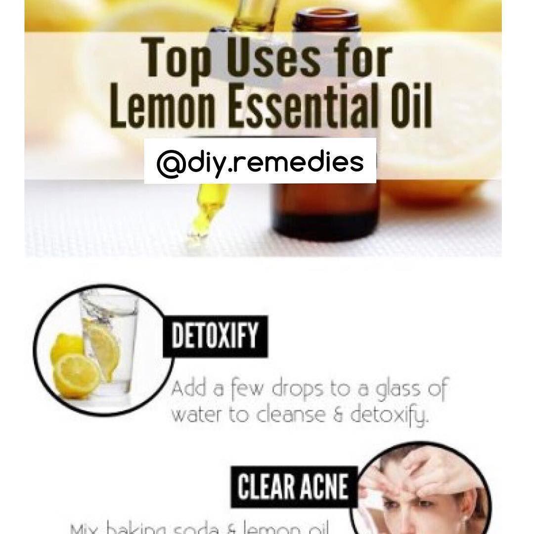 Diy remedies on instagram top uses for lemon essential