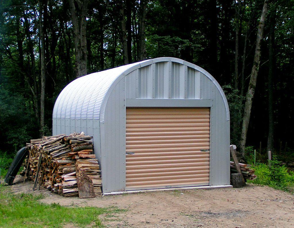 Shed in the Woods Metal garage buildings, Metal storage