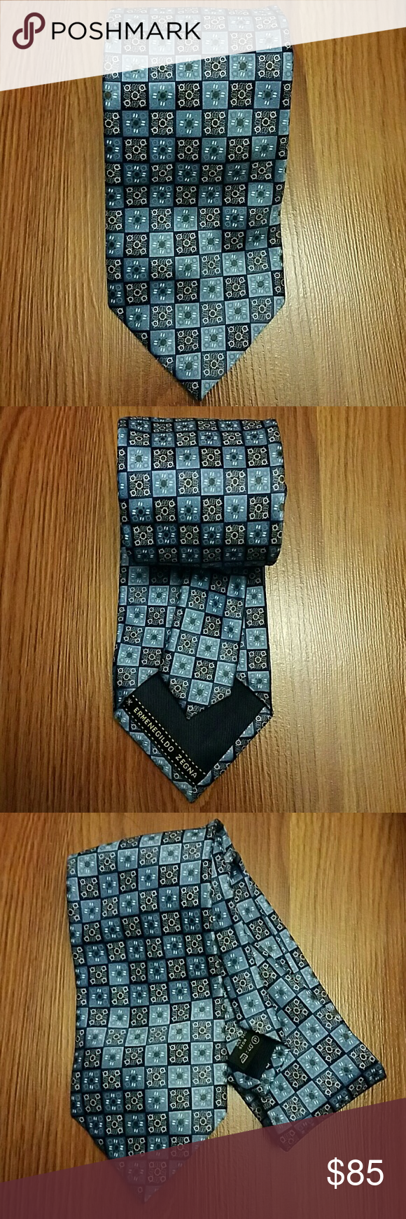Men's Ermenegildo Zegna Necktie Ermenegildo Zegna necktie. 100% silk. Made in Italy. Worn a few times but still in good condition. Ermenegildo Zegna Accessories Ties