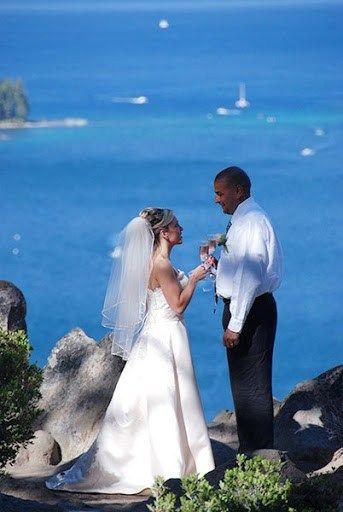 Lake Tahoe Diamond Wedding Package Of The Sky Weddings