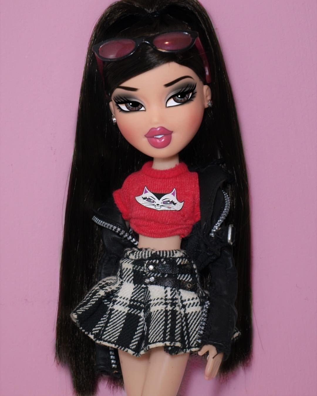 K O O L K A T Collab W Blondebratz Legandary Diva Black Bratz Doll Doll Halloween Costume Bratz Doll Makeup