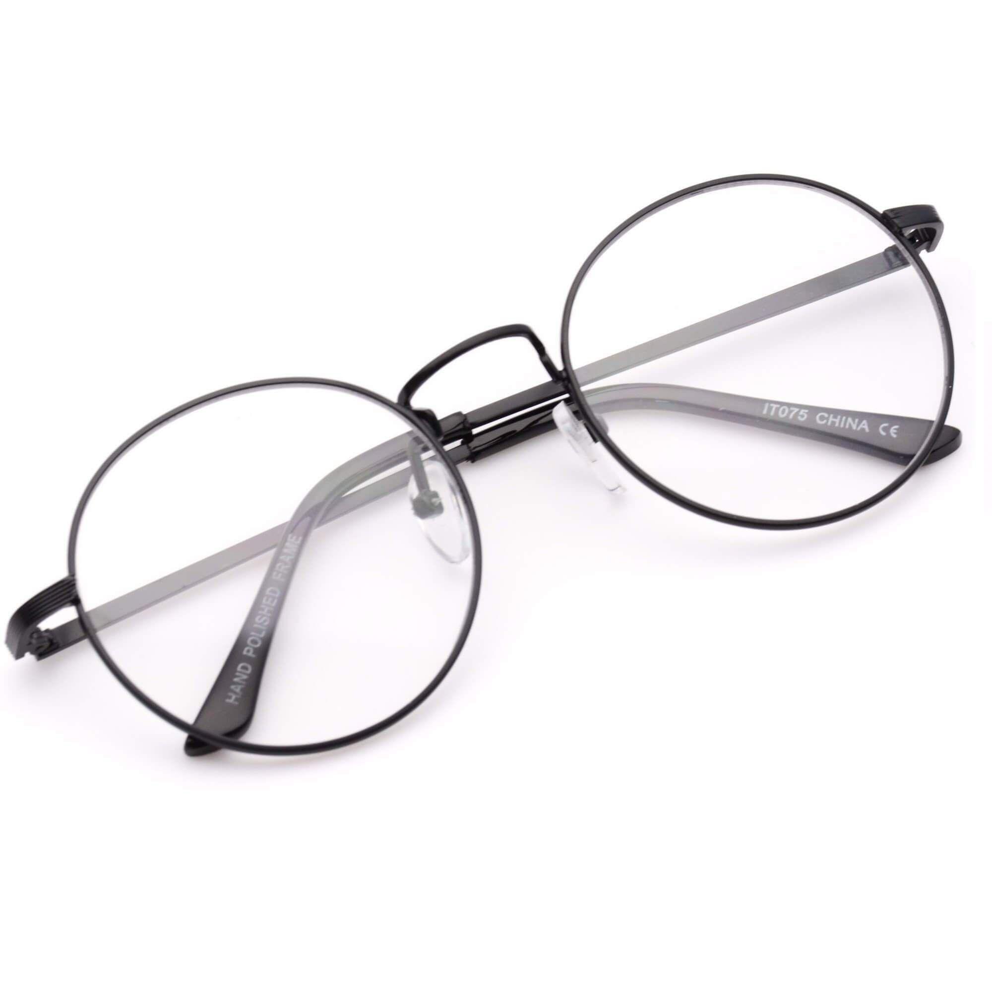 Black Wire Rimmed Glasses - WIRE Center •