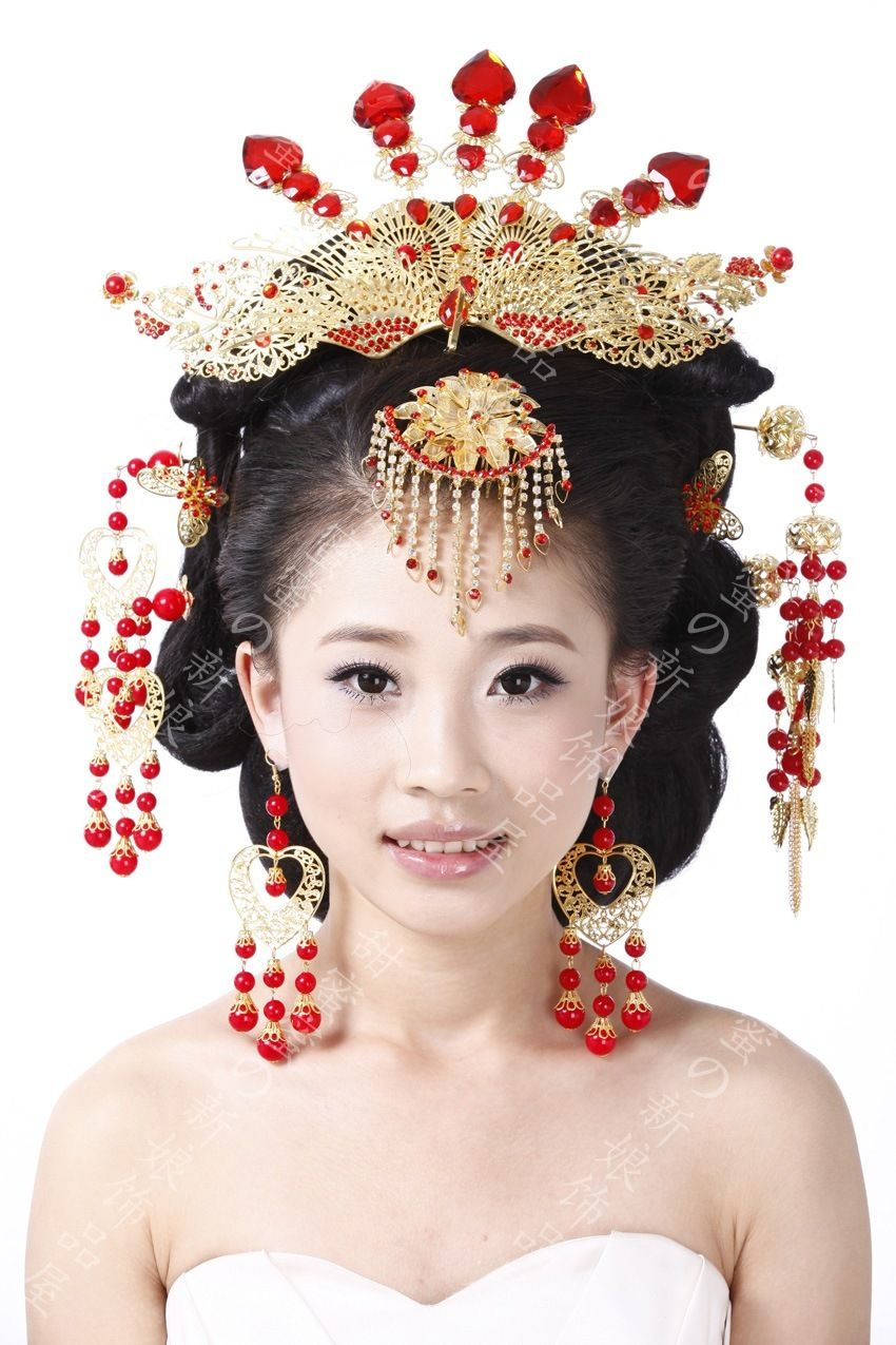 ancient the coronet costume bride ☆ hanfu hair accessories