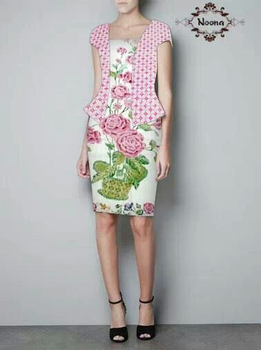 Flower Print dress. Cute.