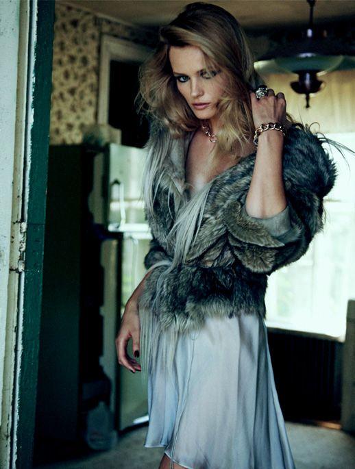 Edita Vilkeviciute for Vogue China 2011