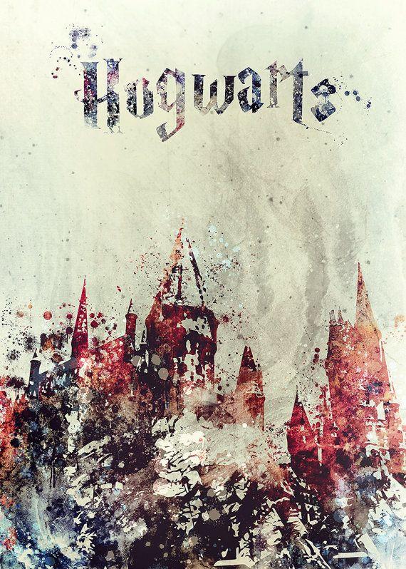 Pin Von Sisastyle Hygge Auf L Arte Harry Potter Kunst