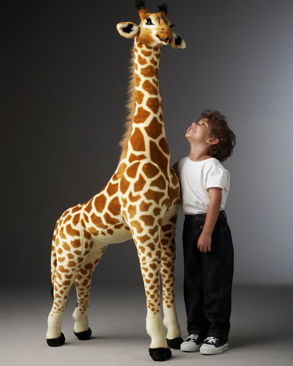 Melissa Doug Tall Giraffe Plush Giraffe Plush Giraffe Giraffe Decor [ 1250 x 1000 Pixel ]