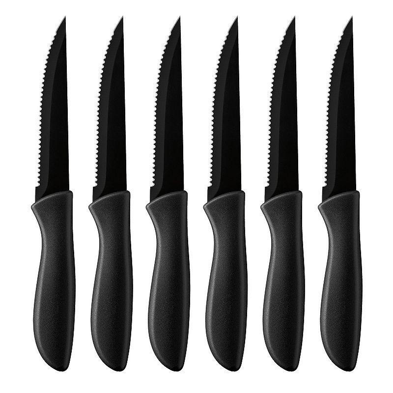 Cuisinart Advantage 6 Pc Ceramic Coated Steak Knife Set Steak Knife Set Steak Knives Knife Sets