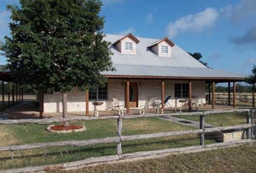 Crocker real estate in the texas hill country residential for Ranch style home builders in texas