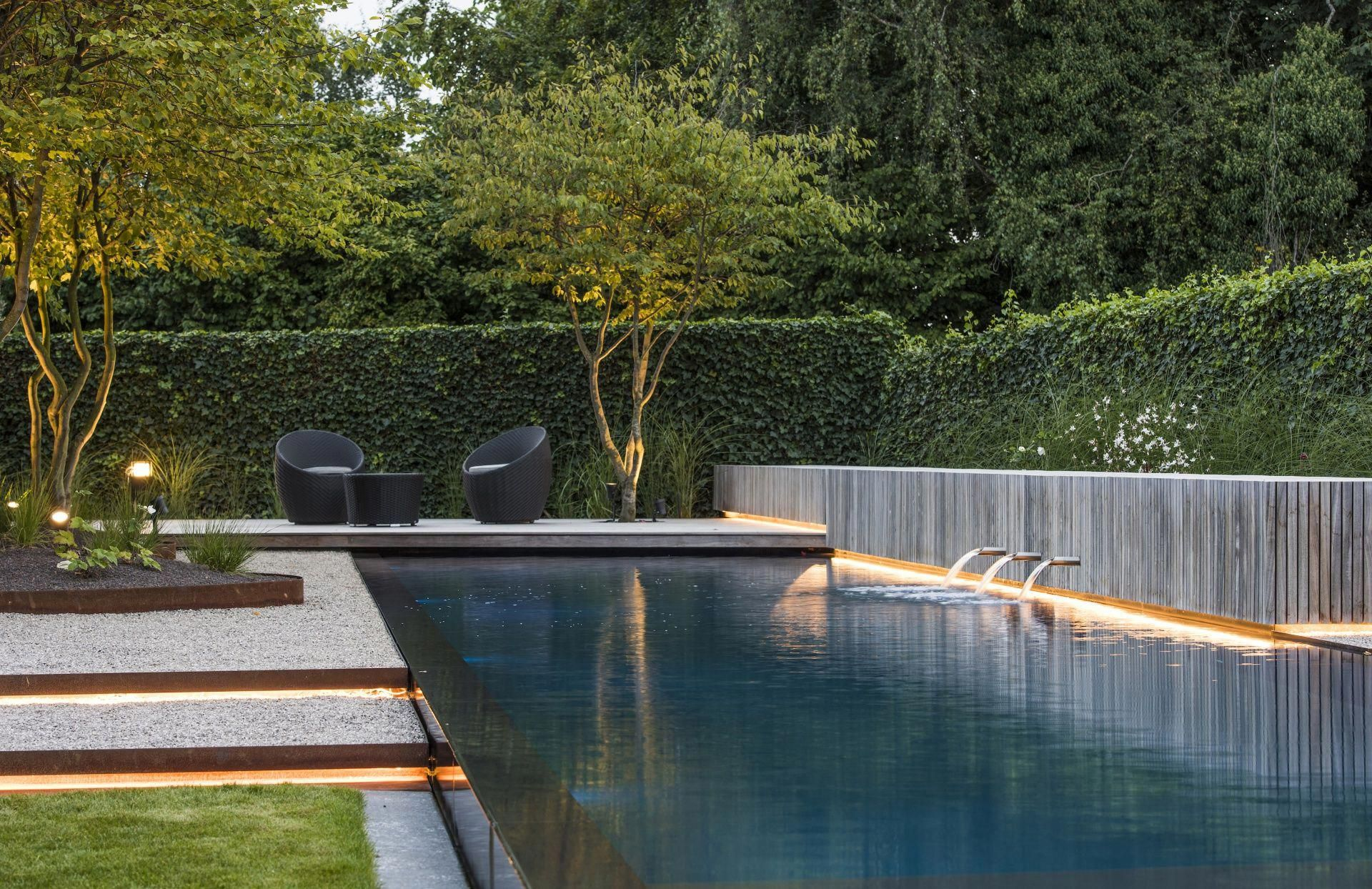 Garden Design Ideas Pinterest Gardendesignideas Pool Landscape Design Pool Landscaping Backyard Pool Designs
