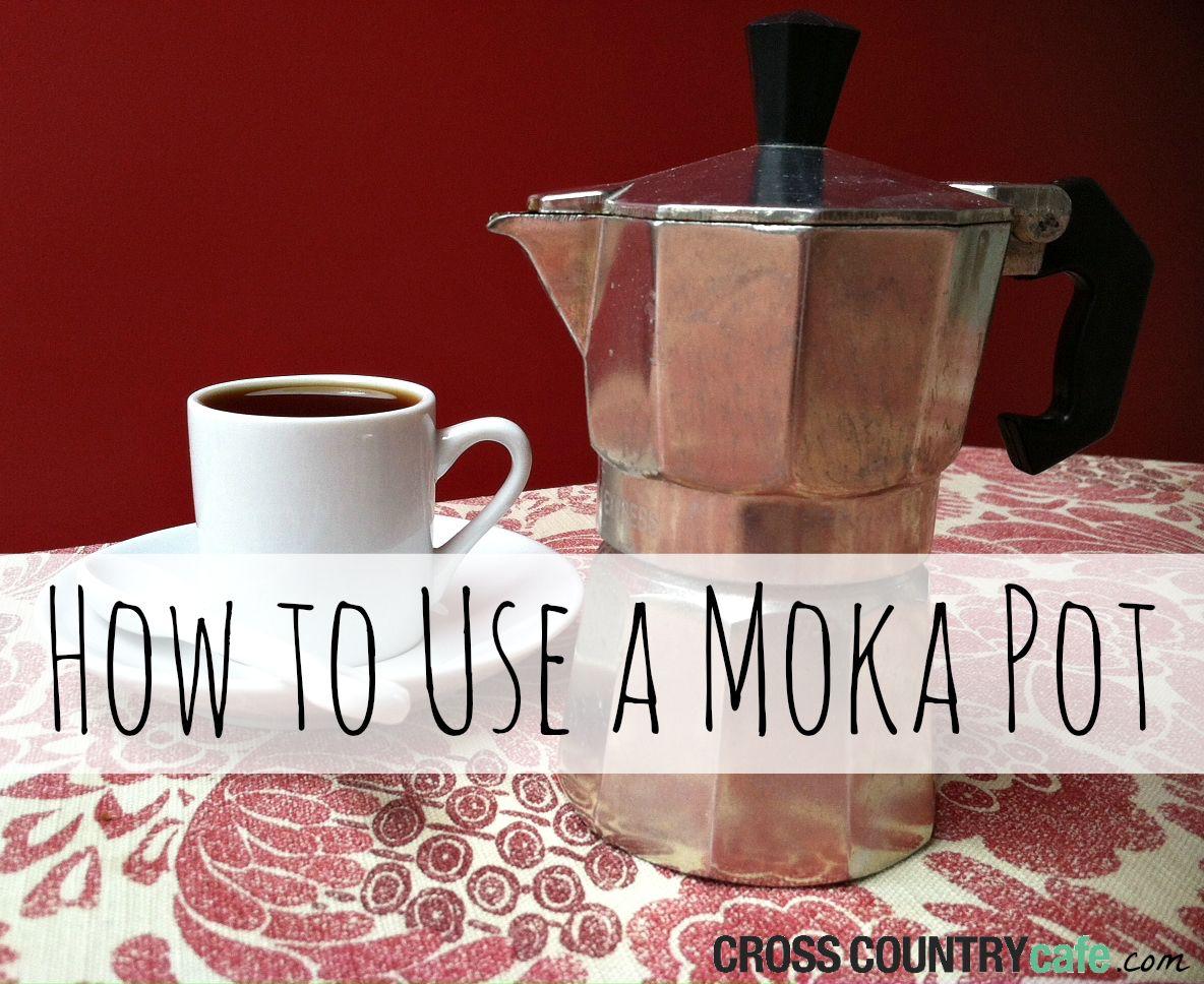 How to Use a Moka Pot Moka pot, Coffee gifts, Coffee uses