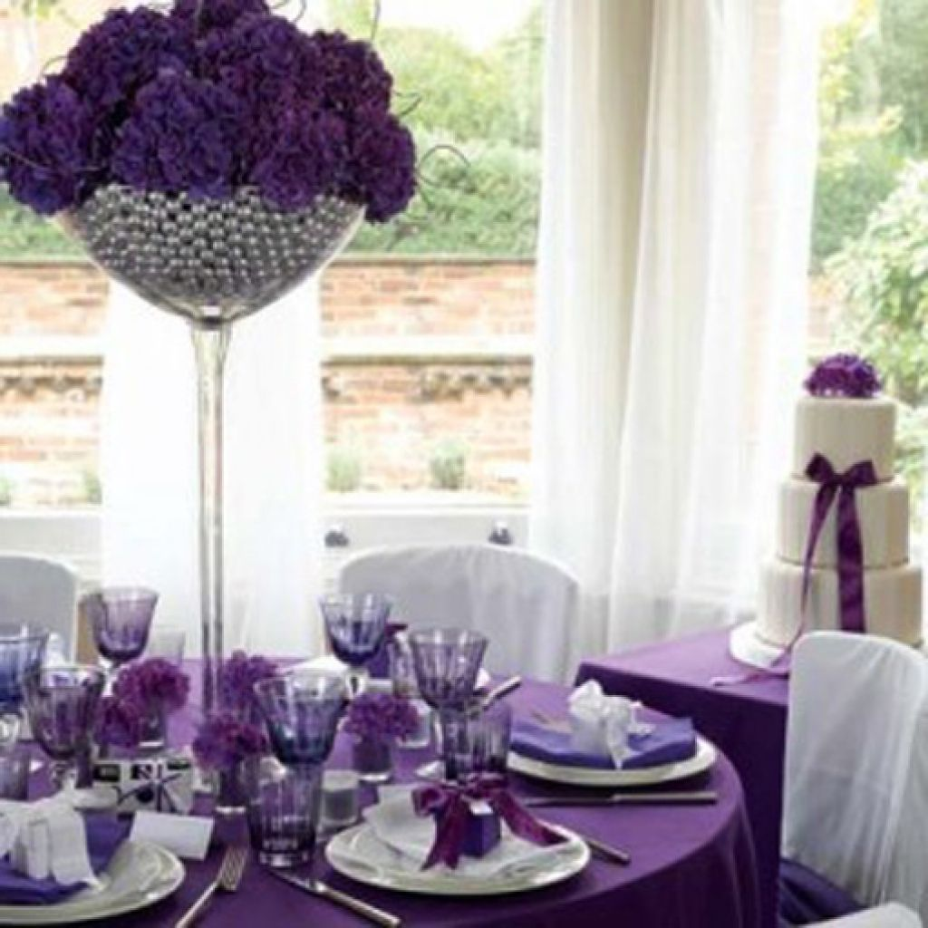 Purple Weddings Ideas: Purple Wedding Decorations 20151124 Wedding Ideas Wedding