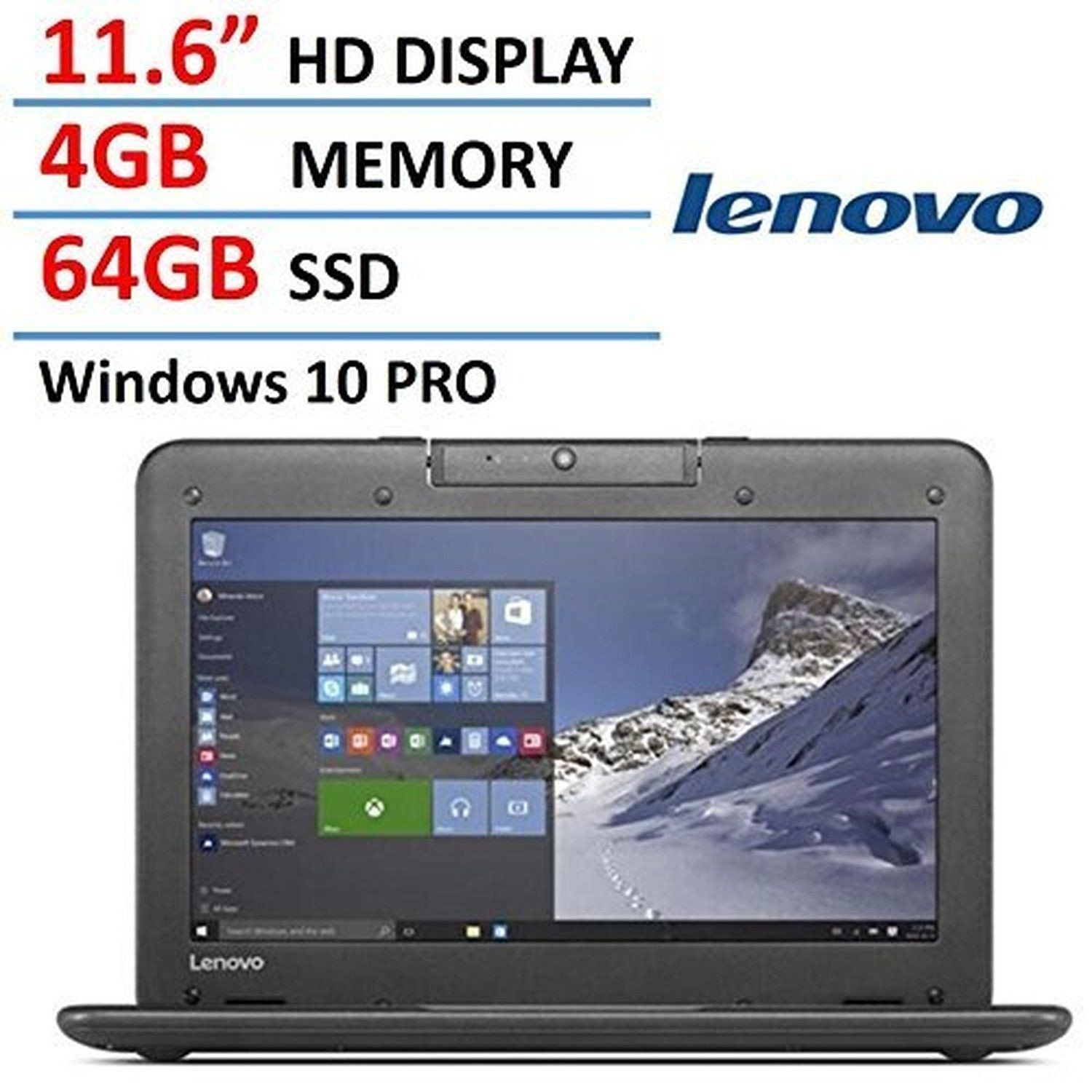 Lenovo N22 11 6-inch High Performance Laptop Notebook (2016 New